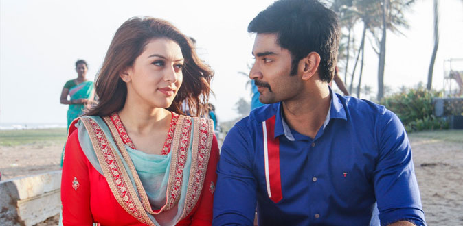 Atharva and Hansika in 100