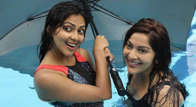 Ramya and Amala Paul in Aadai