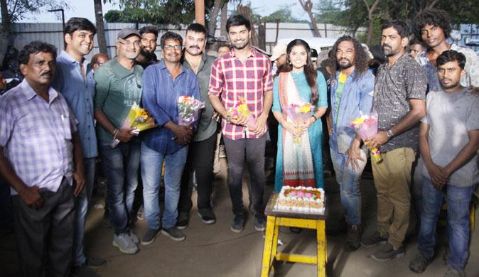 Atharva and Anupama in new movie