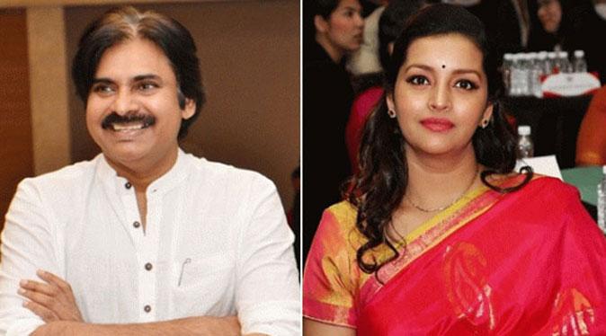 Bhavan Kalyan and Renu Desai
