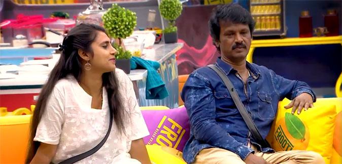 Cheran and Kasthuri