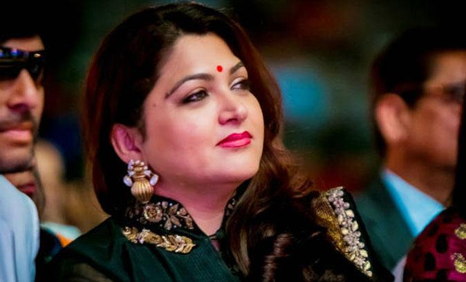 Actress Kushboo
