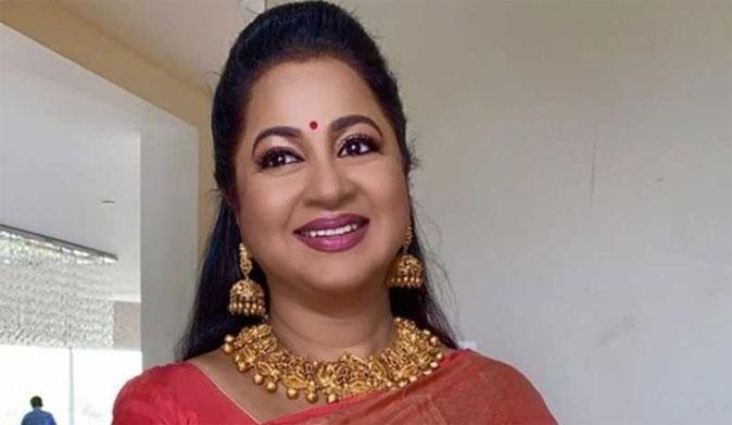 Actress Radhika