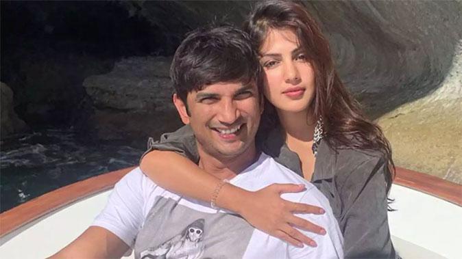 Sushant Singh and Riya Chakravarthy