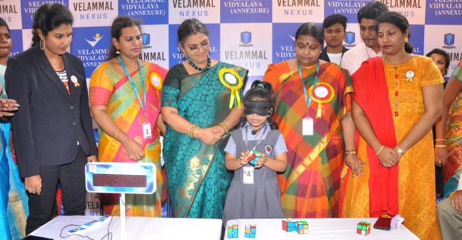 Velammal School World Reccord
