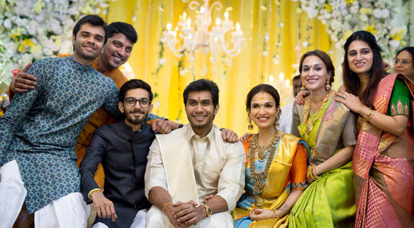 Soundarya weds Vishagan