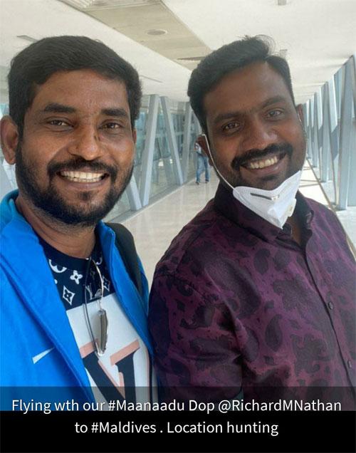 Suresh Kamatchi and Richard Nathan