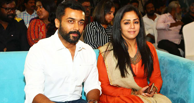 Surya and Jyothika