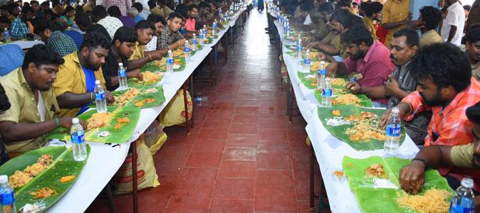 May Day Celebration for Vijay Fans