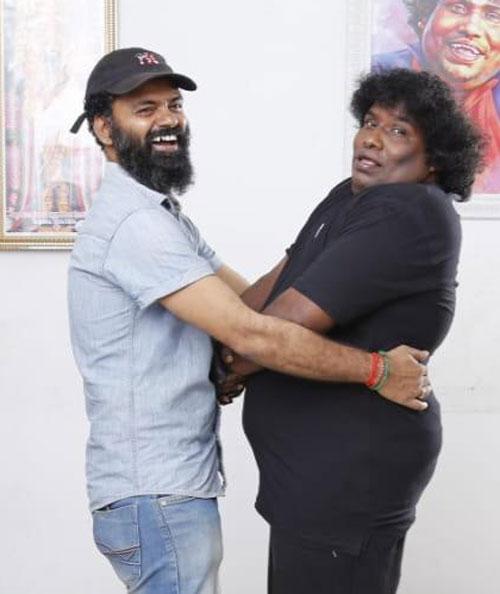 Yogi Babu and Milka Selvakumar