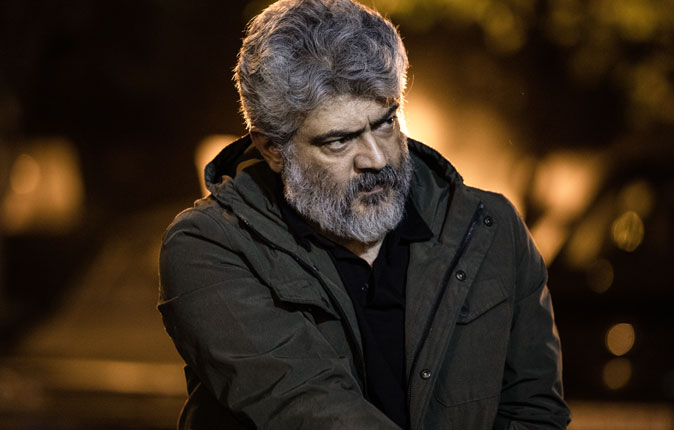 Ajith in Nerkonda Parvai Stills