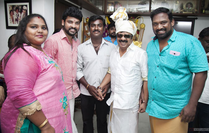 Pandiarajan Birthday Celebration Stills