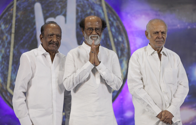 Rajinikanth Fans Meet Stills