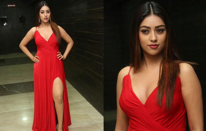 Actress Anu Emmanuel Stills