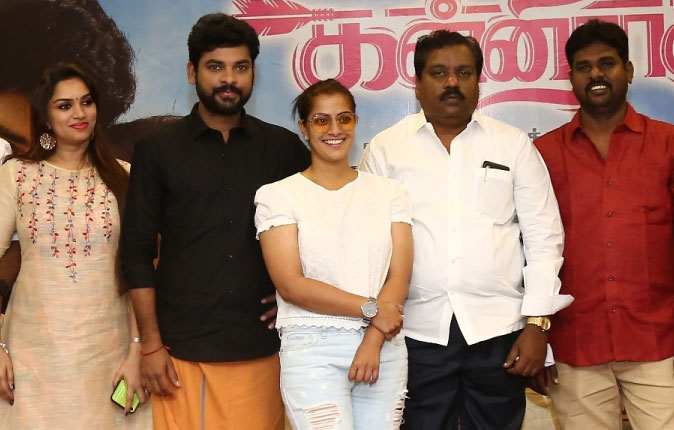 Kanni Raasi Movie Press Meet Stills