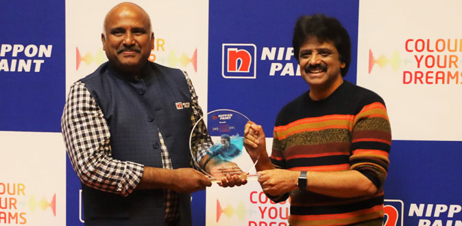 Nippon Paint joins hands with Playback Singer Mr. Srinivas