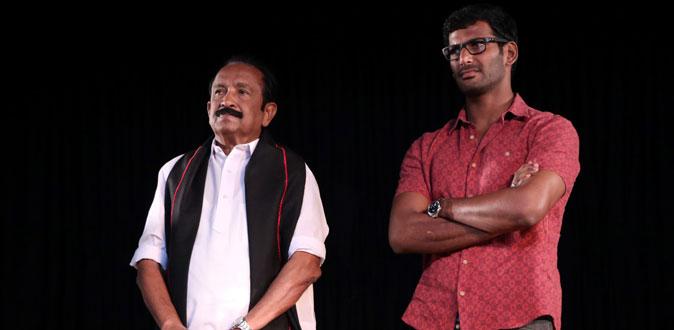 'வேலுநாச்சியார்' மேடை நாடகத்தை திரைப்படமாக தயாரிக்கும் வைகோ!