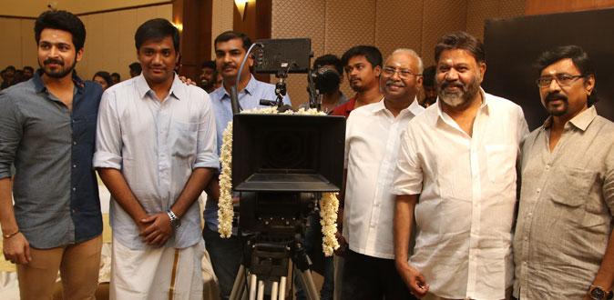 Harish Kalyan's 'Dhanusu Raasi Neyargalae' shoot start with pooja