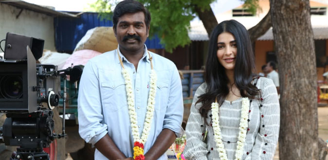 Vijay Sethupathi's 'Laabam' movie shooting start