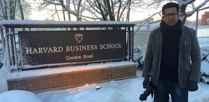 First Indian film to be shot in the Harvard University