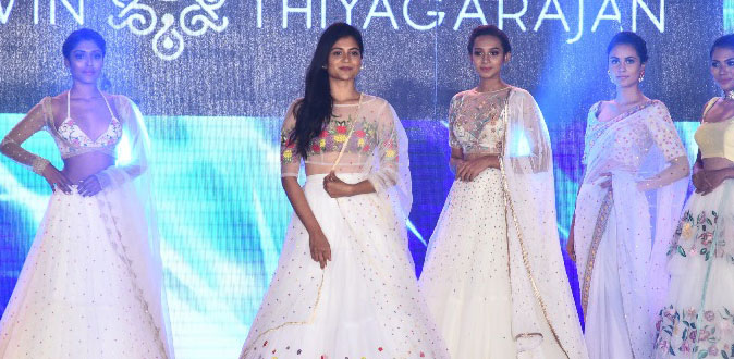 Actress Aditi Balan showstopper at Provoke Lifestyle's Summer Fashion Festival 2018