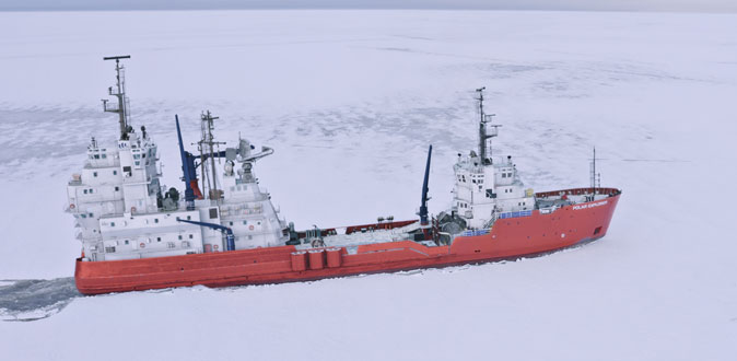 Hrithik, Tiger fight on the biggest ice-breaker ship in the Arctic!