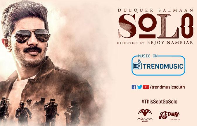Trend Music got Dulquer Salman's Solo