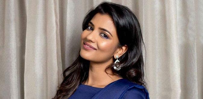 ஒரே நேரத்தில் இரண்டு! - நன்றி தெரிவித்த நடிகை ஐஸ்வர்யா ராஜேஷ்