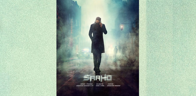 Prabhas' look in the first poster of Saaho raises massive curiosity!