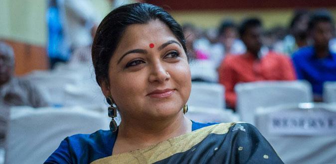 முட்டுக்காட்டில் நடிகை குஷ்பு திடீர் கைது