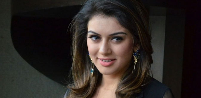 Hansika gets injured in shooting! - Press Release