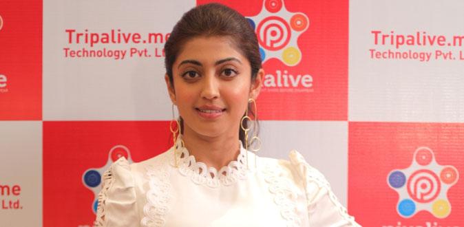 Pixalive Announces Actress Pranitha Subhash as Brand Ambassador
