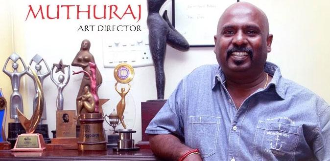 Art Director Muthuraj speaks about 'Velaikkaran'