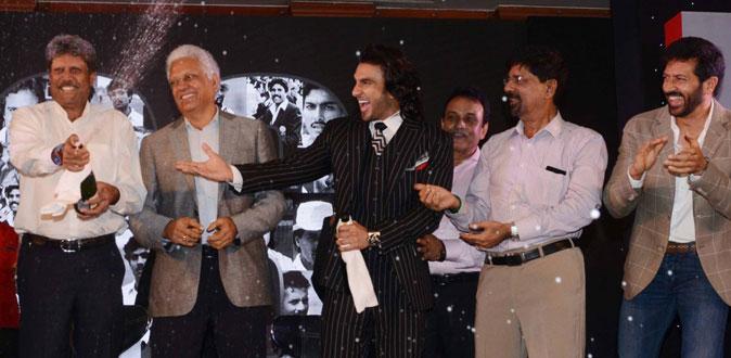 Ranveer Singh's '83 kick-starts its' journey amid huge fanfare