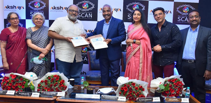 Actress Suhasini and Actor and Babloo Prithiveeraj launch Akshaya's Social cost projects