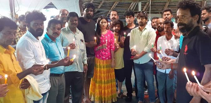 விவேக் மறைவிற்கு அஞ்சலி செலுத்திய 'கும்பாரி' படக்குழு
