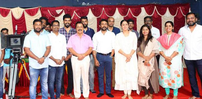 Jyothika's new movie start today with pooja