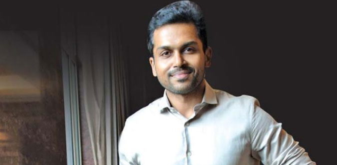 Actor Karthi Press Release