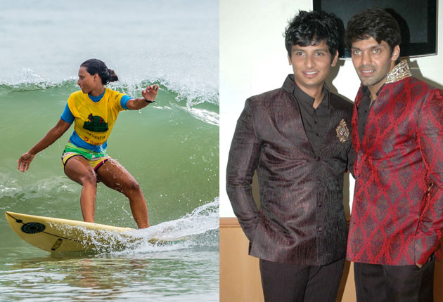 Arya & Jeeva to attend the Surfing extravaganza