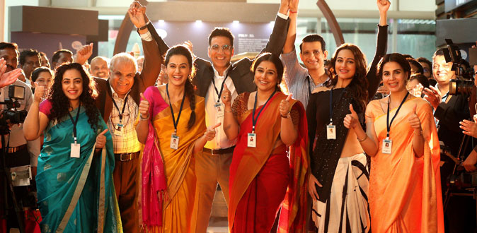 Mission Mangal opens to the biggest advance booking