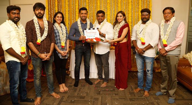 Press Release – Arun Vijay-Arivazhagan's spy thriller  'AV 31' launched