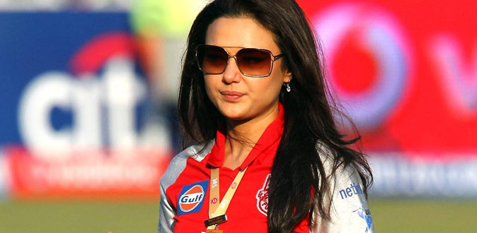 Preity Zinta announced as owner of Stellenbosch franchise