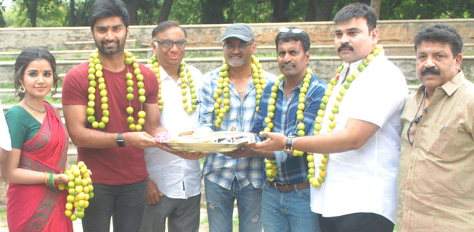 Press Release - Atharva's untitled movie shooting start