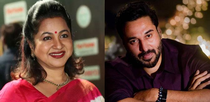 நடிகர் ரஹ்மானுக்கு உதவிய நடிகை ராதிகா!