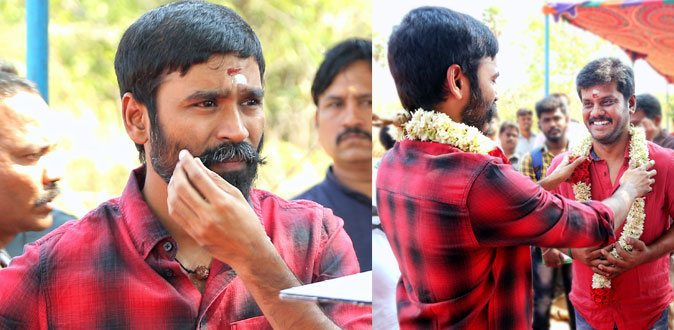 Dhanush's new movie shooting start in Kutralam
