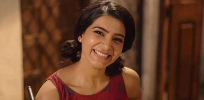 Samantha's 'Oh Baby' release on August 15th