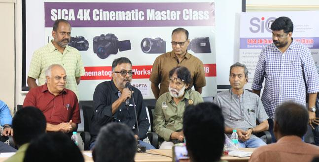 சிகா (SICA) 4K டிஜிட்டல் சினிமா பயிற்சி முகாம்!