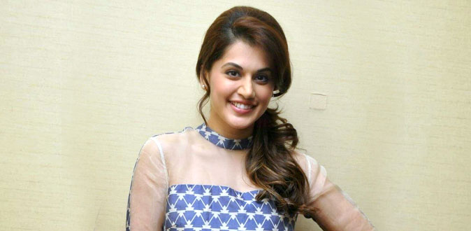 Actress Taapsee start new Production House!