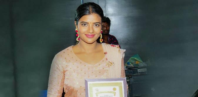ஐஸ்வர்யா ராஜேஷுக்கு சிறந்த நடிகைக்கான விருது!