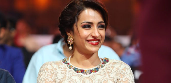 Trisha is Celebrity Advocate in first World Children's Day Celebration